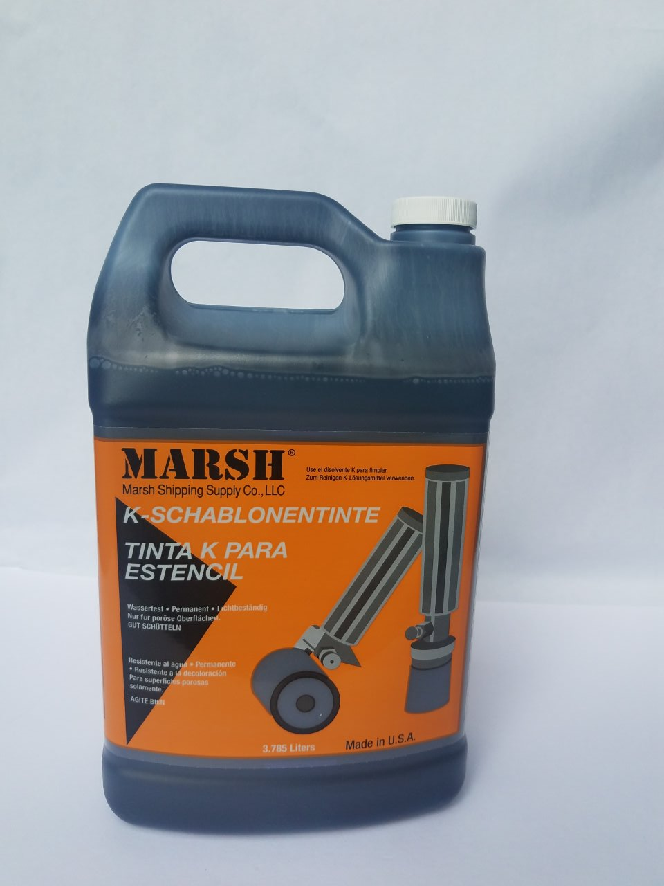 Marsh K Ink And Solvent Alpha Industrial Supplies Inc